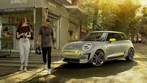 یک کانسپت کوچک تمام الکتریکی، خودرو الکتریکی برای سال 2019
